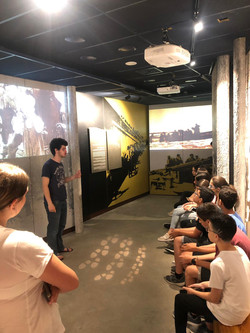 שכבת ח' במוזיאון ההגנה