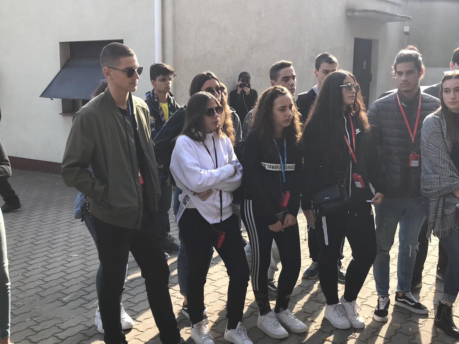 המסע לפולין-יום1