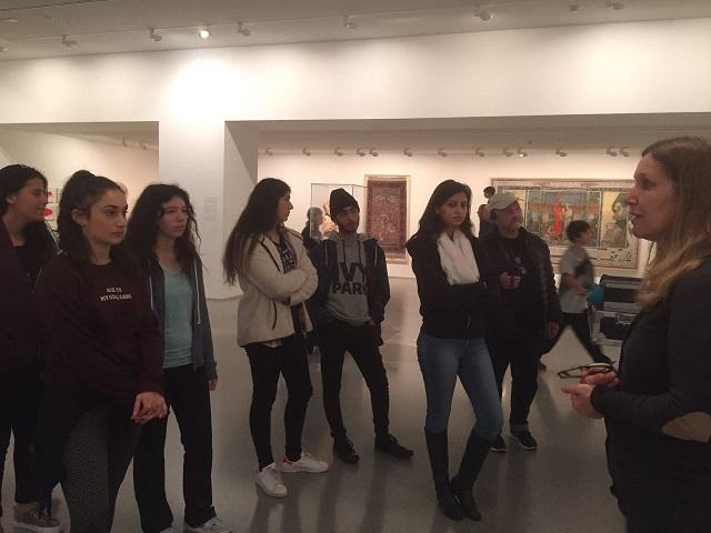 סיור למוזיאון ישראל