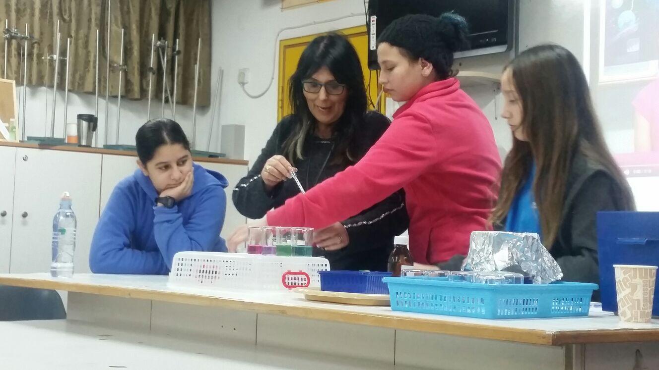 קבלת כיתות ו' - טעימה ממדעים