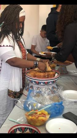 חג הסיגד בגימנסיה