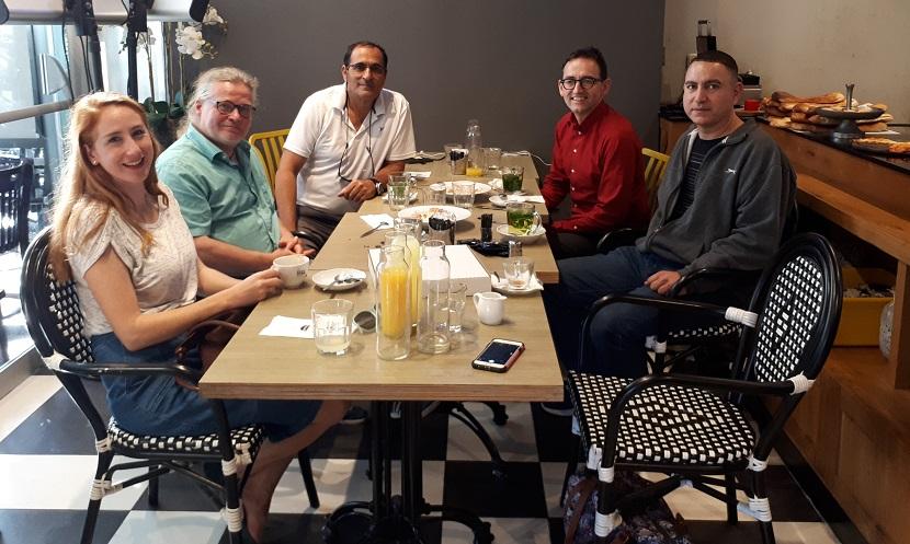 ארוחת צהריים עם ראש עיריית ברלין