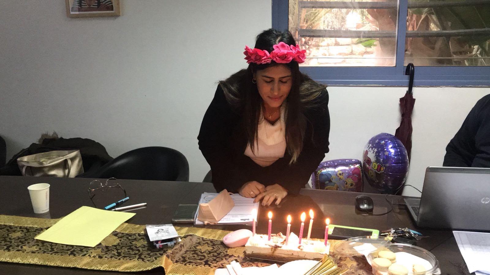 חוגגים יום הולדת לגלית