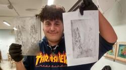סדנת הדפסים מגמת אומנות