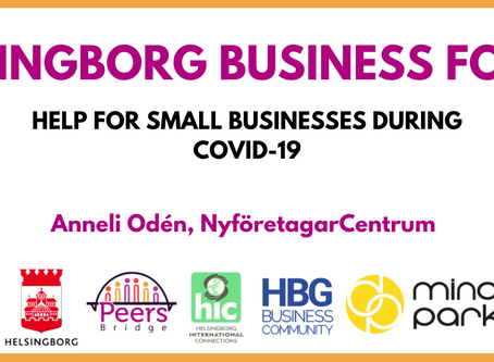 Helsingborg Business Forum goes online
