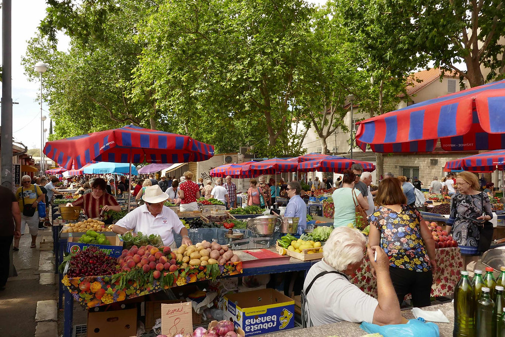 Split Green Market During COVID-19