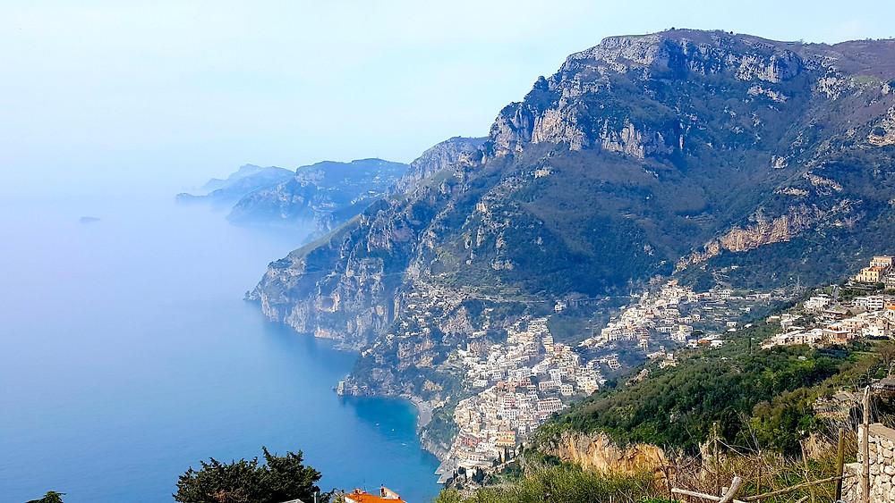 View during Bay of Leranto Hike, Amalfi Coast, Italy