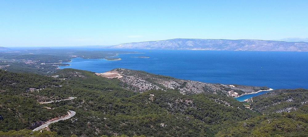 Road Trip on Island of Hvar