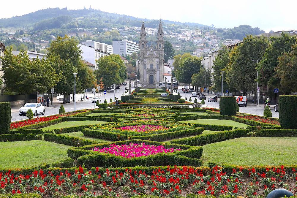 Largo República do Brasil, Guimaraes Portugal