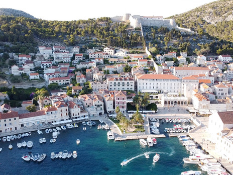 Hvar From The Above - Drone Shots of Hvar and Surrounding Islands