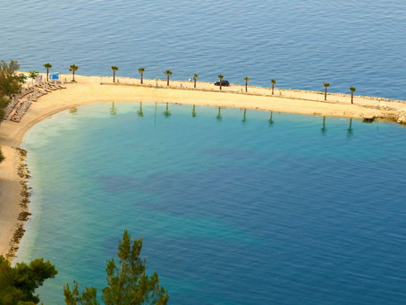 Split from Above: Old town, Marjan Park and Beaches