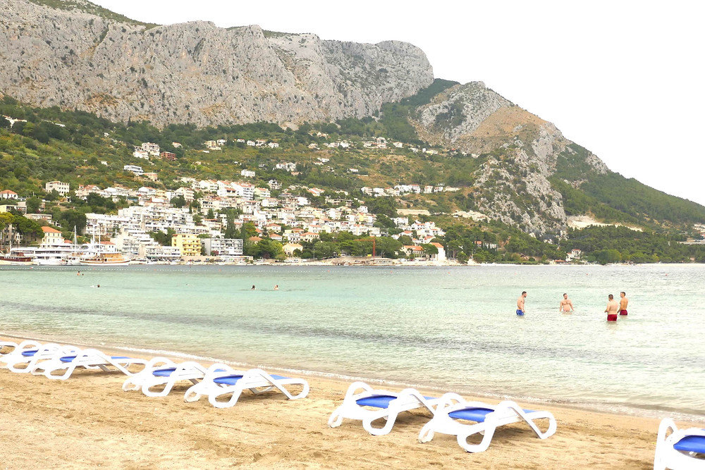 The Big Beach of Omis