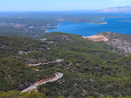 One Day Road Trip on Island of Hvar