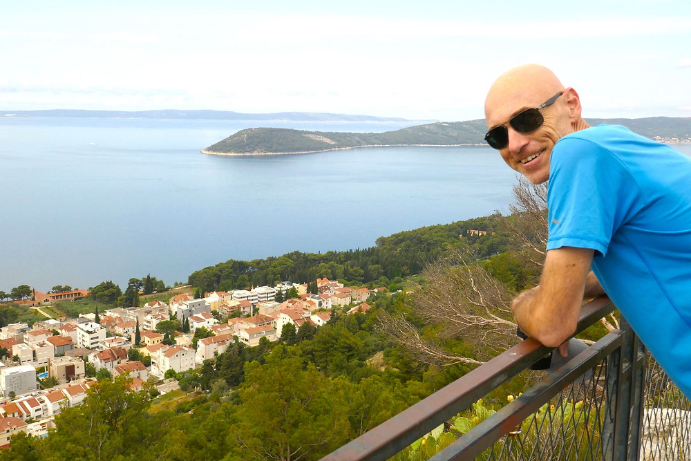 Views from Marjan Forest Park, Split, Croatia