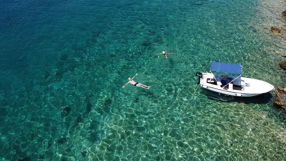 Swimming in Adriatic Sea
