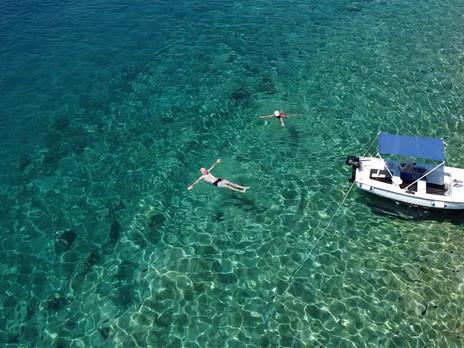 Boat Trip to Pakleni Islands, Croatia