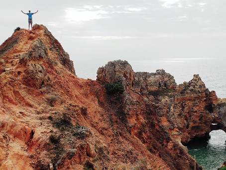 Two Great Coastal Walks in Lagos Portugal