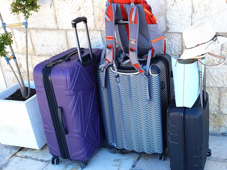 How Much Luggage Should A Full Time Traveller Carry?
