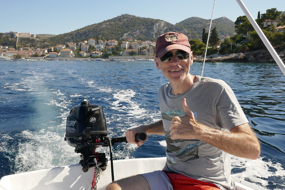 Self Driving Boat Trip from Hvar to Pakleni Islands