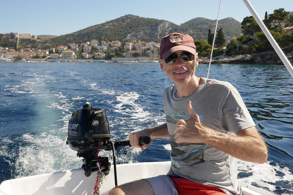 Self Driving Boat Trip from Hvar to Pakleni Islands