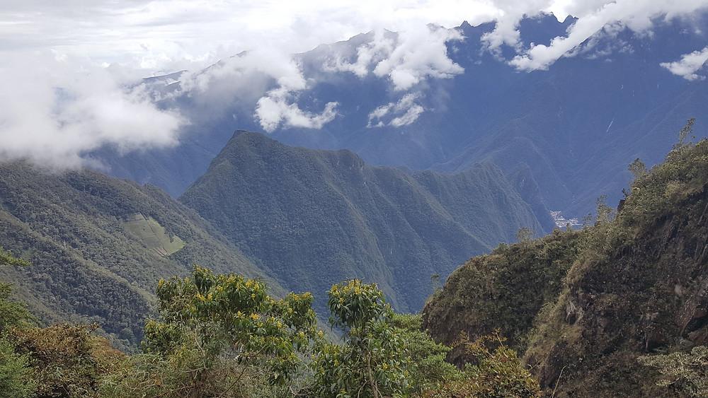 Mountains on Inca Trail, Peru
