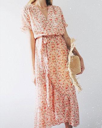 Robe fleurie Celosia