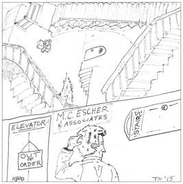 Escher's Office