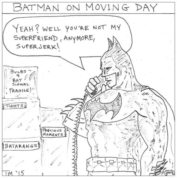 Batman on Moving Day