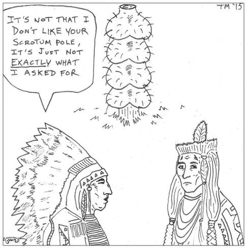 Scrotum Pole