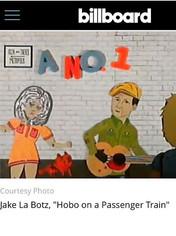 Hobo on a Passenger Train