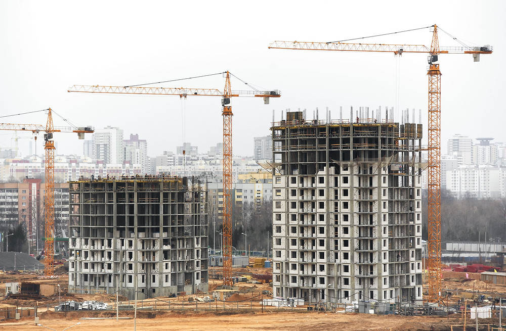 Image of construction sites.