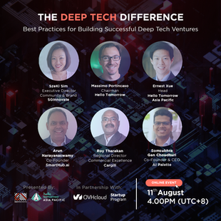 The Deep Tech Difference: Best Practices for Building Successful Deep Tech Ventures