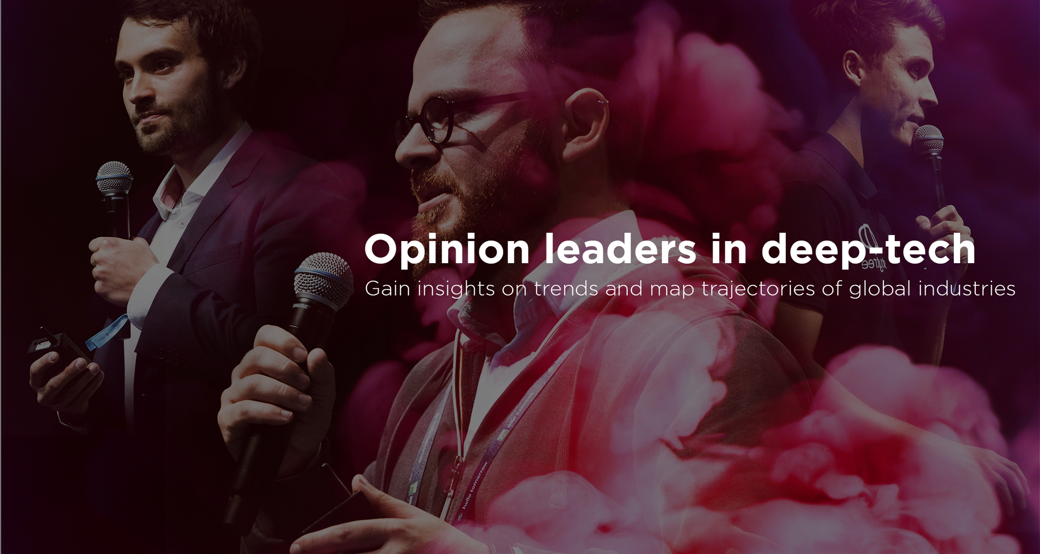 Opinion leaders in deep tech