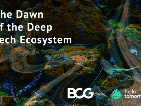 The Dawn of the Deep Tech Ecosystem