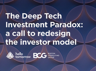 The Deep Tech Investment Paradox: a call to redesign the investor model