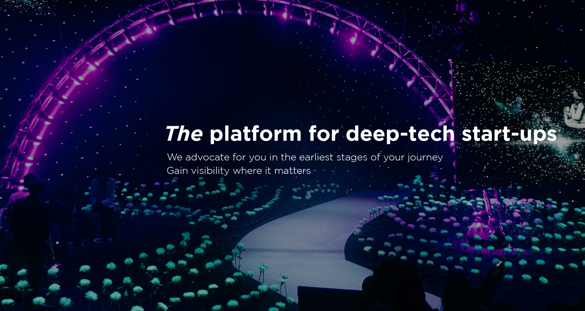 The platform for deep-tech start-up