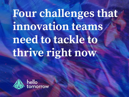 Doing More with Less: Innovation Teams are Put to the Crisis Test