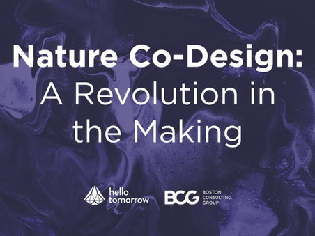 Nature Co-Design: A Revolution in the Making