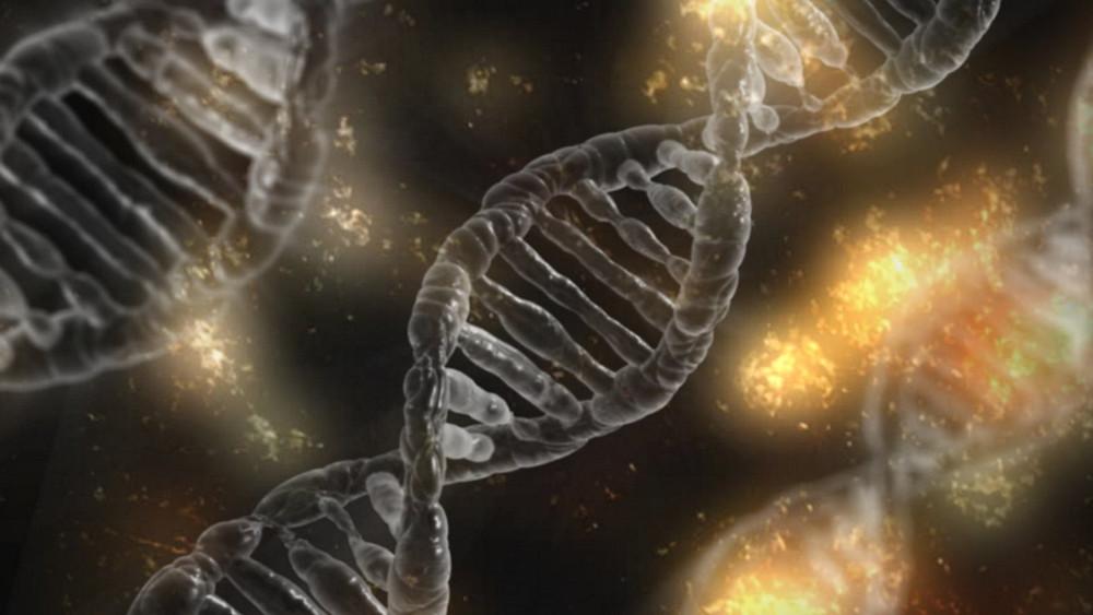 An illustration of DNA strings