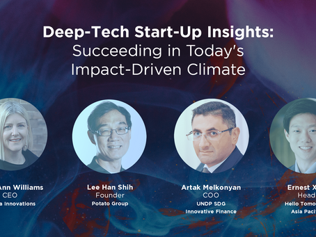 Deep-Tech Start-Up Insights: Succeeding in Today's Impact-Driven Climate