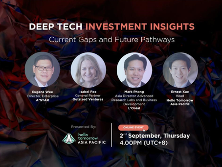 Deep Tech Investment Insights: Current Gaps and Future Pathways