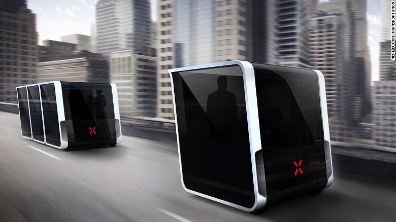 NEXT's modular electric vehicles.