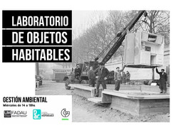 LABORATORIO DE OBJETOS HABITABLES
