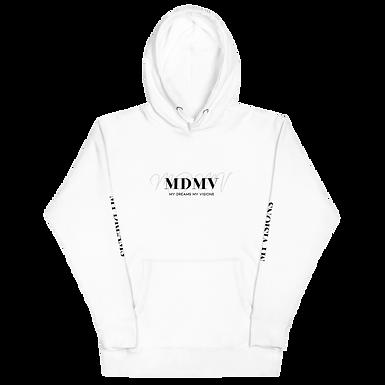MDMV White Hoodie