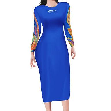 Amaze Long Sleeve Bodycon Dress