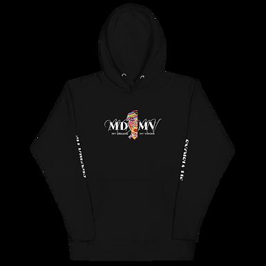 MDMV Logo Black Hoodie