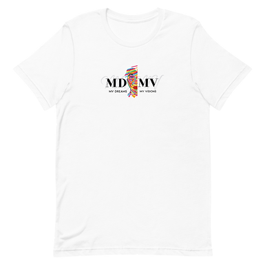 MDMV Logo White T-Shirt