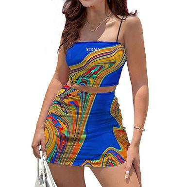 Amaze Mini Skirt & Top