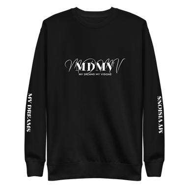 MDMV Black Fleece Pullover