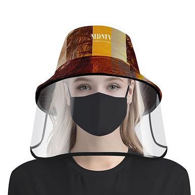Evening Hat & Face Shield